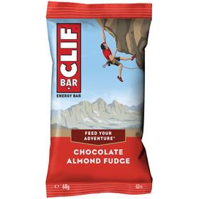 CLIF Bar Caja Barritas Energéticas 12x68g, Chocolate Almond Fudge